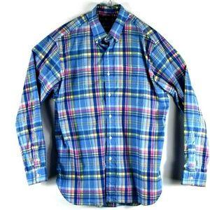Mens Polo Ralph Lauren Multicolor Plaid Flannel